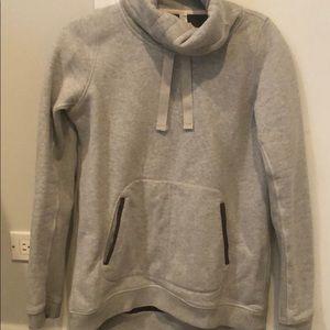 Lululemon fleece lined gray sweatshirt